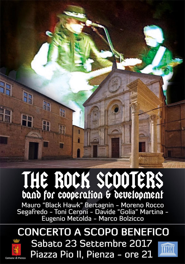 the rock scooters